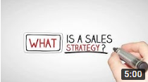 free sales training video on sales strategy