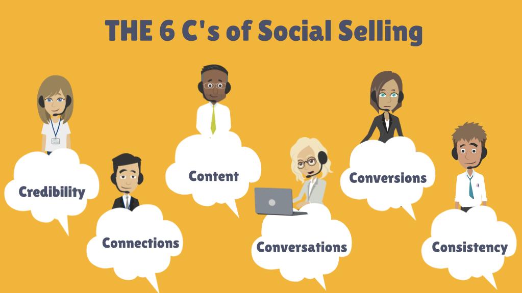 6Cs-social-selling
